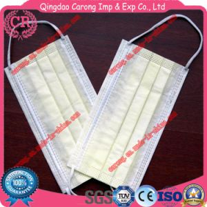 Disposable Non-Woven 3 Ply Surgical Face Mask pictures & photos