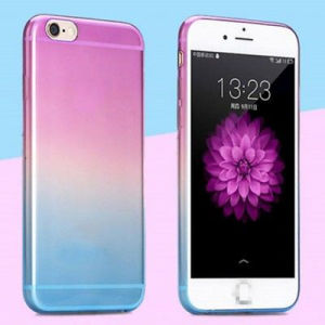 0.3mm Slim Rainbow Soft TPU Case Cover Skin for iPhone 6 pictures & photos