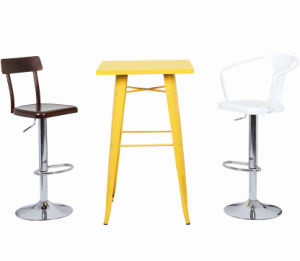 Modern Slippy Bar Tables with High Quality pictures & photos