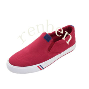 New Hot Design Men′s Canvas Shoes pictures & photos