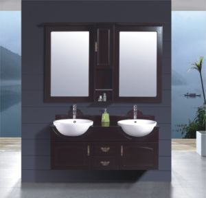120cm MDF Bathroom Cabinet Vanity (B-251) pictures & photos