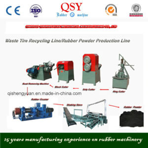 Scrap Tyre Recycling Plant/Scrap Tyre Recycling Line pictures & photos