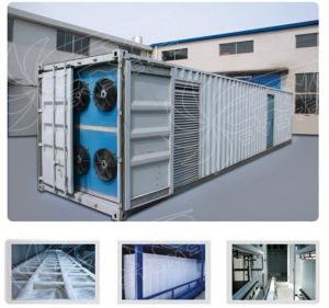Containerized Block Ice Machine (ice maker) pictures & photos