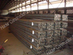 Hot Rolled Extruded Steel Rails pictures & photos