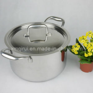 20cm Stainless Steel High Quality Stock Pot pictures & photos