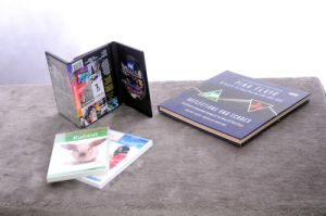 DVD5 Replication with Hardcover Books Printing