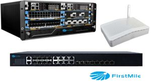 FTTX System Solution 2 10g SFP+ Port Gpon Olt pictures & photos