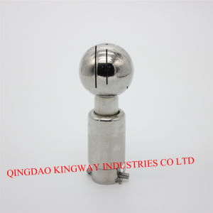Stainless Steel Rotary Sanitary Cleaning Ball.