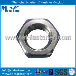 Carbon Steel Zinc Plated DIN934 Cl. 10 Hex Nuts