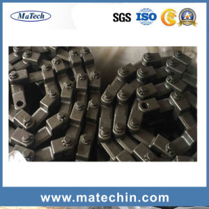 OEM Custom Carbon Steel Upset Forgings Conveyor Scraper Chain pictures & photos