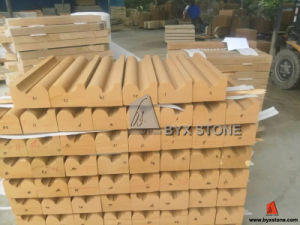 White / Beige / Yellow Sandstone Moulding for Building Projects pictures & photos