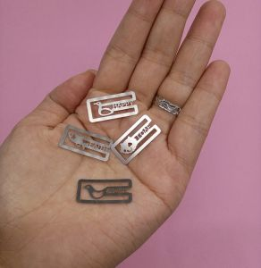 Mini Metal Hollow out Bookmark pictures & photos