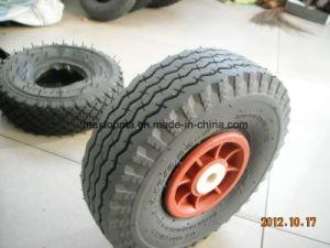 Maxtop Green Color Wheelbarrow Rubber Wheel pictures & photos