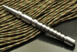 Titanium Ti Kubotan Kubatan Kubaton Self Defense EDC Pocket Tool