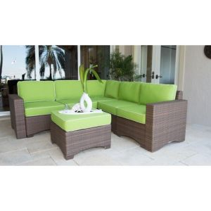 Well Furnir 6 Piece Sectional Set with Cushions pictures & photos