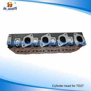 Engine Parts Cylinder Head for Nissan Td27/Td27t 11039-43G03 Td25/Td42/Tb42/Tb45/Zd30/Qd32 pictures & photos