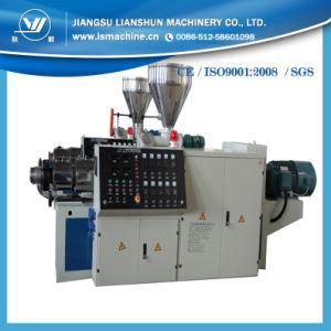 PVC Pipe Extruder Machine/PVC Extruder Machine/PVC Conical Twin Screw Extruder Machine pictures & photos