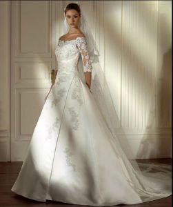 2015 Long Sleeve Bridal Wedding Gowns (WD12009) pictures & photos