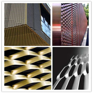 ISO Certificate Aluminum Expanded Metal Mesh pictures & photos