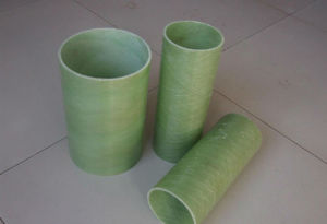 GRP Pipe with Sand Filler Inside High Strength and Low Price pictures & photos