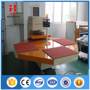 Rotary 4-Position Automatic Sublimation Heat Press Machine for T Shirt pictures & photos