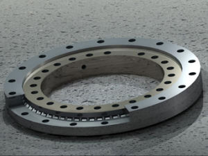 Single-Row Crossed Roller Slewing Bearing - No Gear pictures & photos