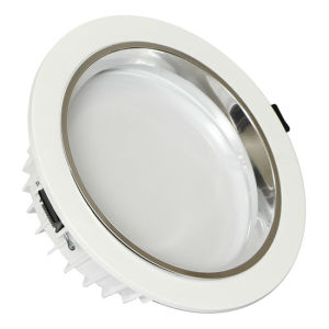 Silver Ring 8 Inch 30W Diecasting LED Down Light pictures & photos