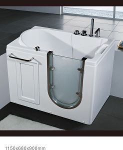Freestanding Safety Bathtub for Old People and Disabled People (BNG1004A)