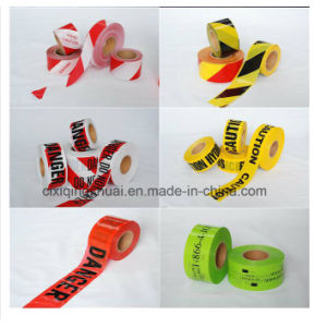 Customized Design Colorful Industrial Caution Tape Warning Tape pictures & photos