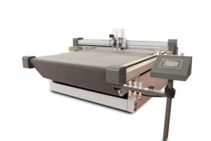 High Speed Convey Belt Flatbed Digital Cutter (AOKE DCZ75R) pictures & photos