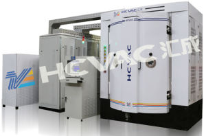Huicheng PVD Vacuum Metallization Color Coating Machine for Plastic, Glass, Metal, Ceramic pictures & photos
