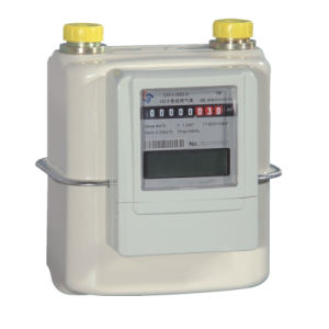 Steel Case IC/RF Card Prepayment Gas Meter for Domestic Usage pictures & photos
