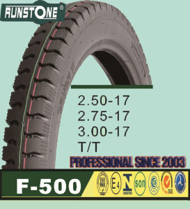 Motorcycle Tyre/Tire 2.50-17 2.75-17 3.00-17 Tube Tyre pictures & photos