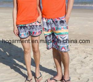 Couples Clothing, Quickly Dry Beach Wear, Board Shorts for Lovers′ Clothes pictures & photos
