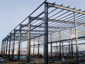 Q235/Q345b Galvanized H Beam Steel Structure Building pictures & photos