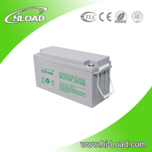 12V 150ah Dry Cell Solar Power Deep Cycle Gel Battery pictures & photos