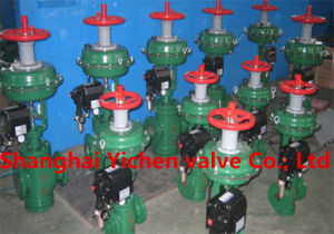 Pneumatic Two-Seat Regulating Control Valve pictures & photos