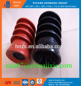 Top and Bottom Anti-Rotating Cementing Rubber Plugs pictures & photos