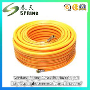 PVC Plastic Farm Using/High Pressure/Water/Spray Hose with Strong Hose Nozzle pictures & photos