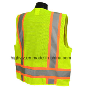 High Quality Reflective Vest with ANSI07 (C2025) pictures & photos