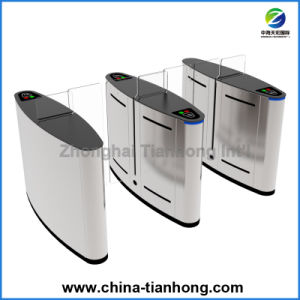 Biometric Controlled Full Height Sliding Barrier Turnstile Gate Th-Fsg608 pictures & photos