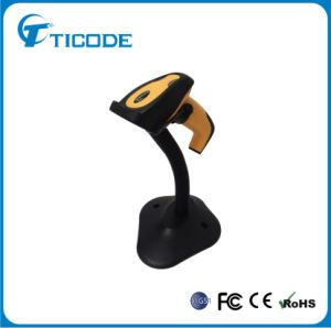 High Density Hand Free Laser Barcode Reader with Stand (TS2400HAT)
