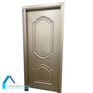 Veneer Molded/ White Primer/ Moulded HDF/MDF Interior Wooden Door pictures & photos