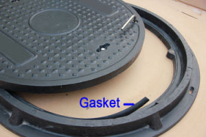 Rubber Manhole Cover Lid Gasket pictures & photos