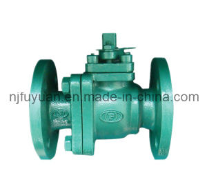 PFA/FEP Lined Ball Valve for Corrosive Fluid Application pictures & photos