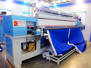Industrial Computer Multi-Needle Multi-Head Embroidery and Quilting Machine (YXH-1-2-50.8) pictures & photos