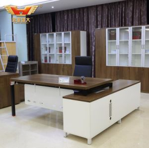 L Shape Office Desk, Modern Office Executive Table pictures & photos
