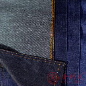 Qm4809 Cotton Twill Denim Fabric pictures & photos