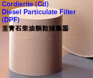 Cordierite Diesel Particulate Filter DPF Honeycomb Ceramic for Exhaust System pictures & photos