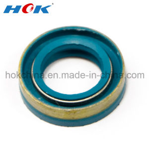 Blue NBR Rubber Oil Seal with Spring pictures & photos